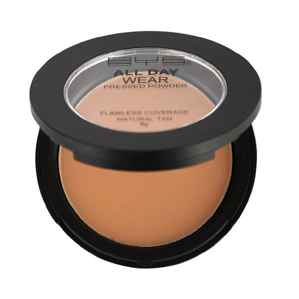 BYS All Day Wear Pressed Powder - 06 Natural Tan-4448