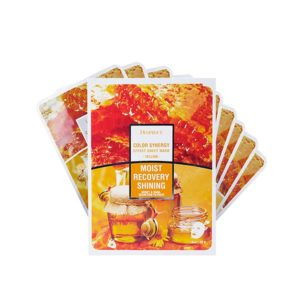 Deoproce Color Synergy Effect Sheet Mask - Yellow (10 Sheets)-0
